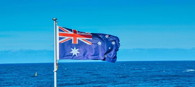 фото флаг Австралии