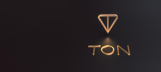 логотип TON