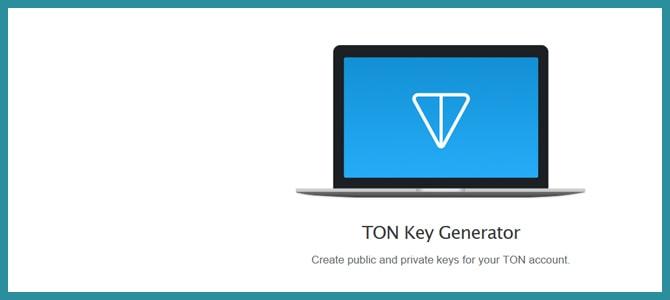 TON Key Generator